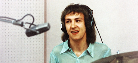 Mitch Mitchell in the studio