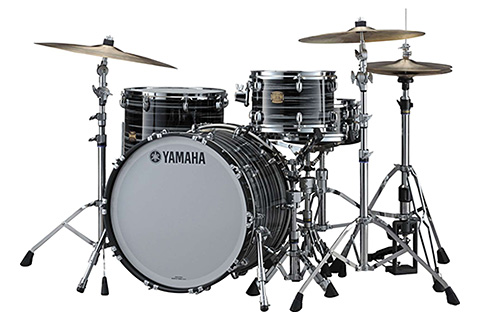 Yamaha Club Custom Black Swirl