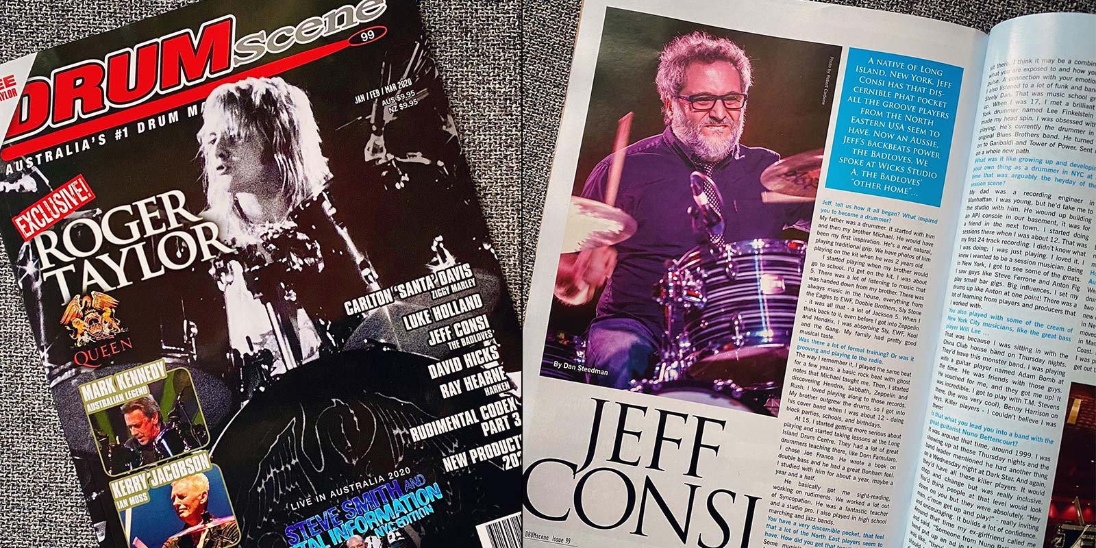 Drumscene Magazine Issue 99: Jeff Consi